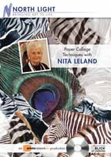 9781600617782: Paper Collage Techniques with Nita Leland DVD