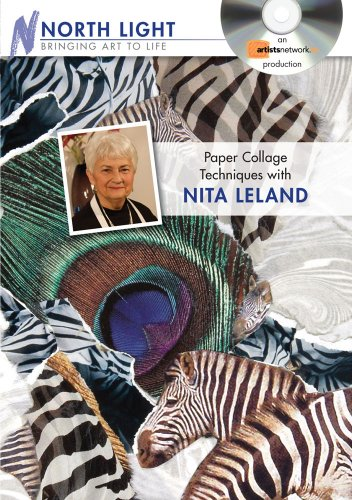 9781600617805: Paper Collage Techniques with Nita Leland