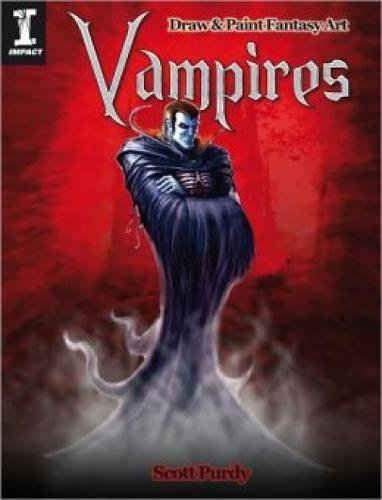 9781600619687: Draw & Paint Fantasy Art - Vampires