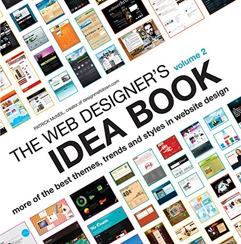 9781600619724: The Web Designer's Idea Book, Vol. 2: More of the Best Themes, Trends and Styles in Website Design