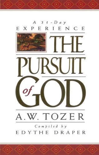 book review the pursuit of god In his book the knowledge of the holy aw tozer outlines what it is we mean when we speak of god, in the pursuit of god he outlines what our response should be once we have found him.