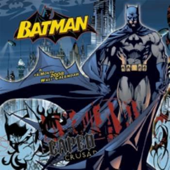 9781600692888: BATMAN A 16-MONTH 2008 WALL CALENDAR