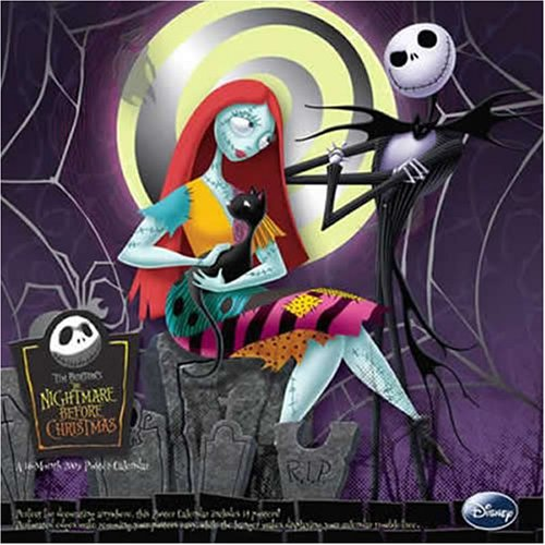 9781600696220: Nightmare Before Christmas 2009 Poster Calendar 998094