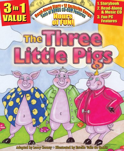 9781600720161: The Three Little Pigs All-in-one Classic Read Along Book / CD