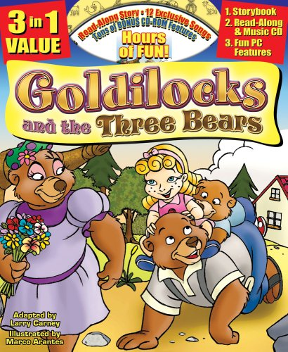 9781600720345: Goldilocks and the Three Bears Collector's Edition Classic Read Along Book /CD