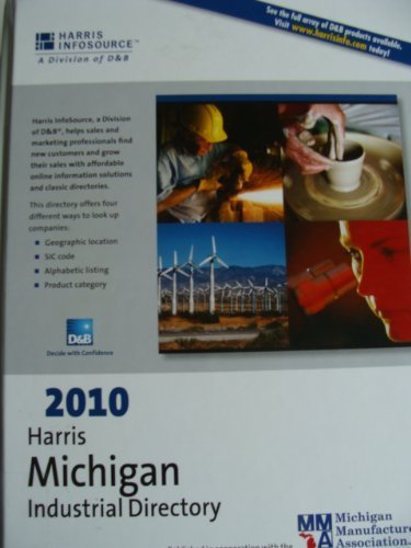 9781600732232: Harris Michigan Industrial Directory 2010