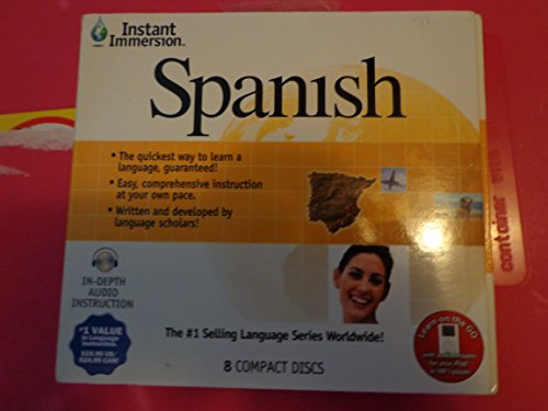 9781600771224: Instant Immersion Spanish (English and Spanish Edition)
