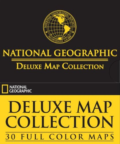 National Geographic Deluxe Map Collection: 30 Full: National Geographic Society