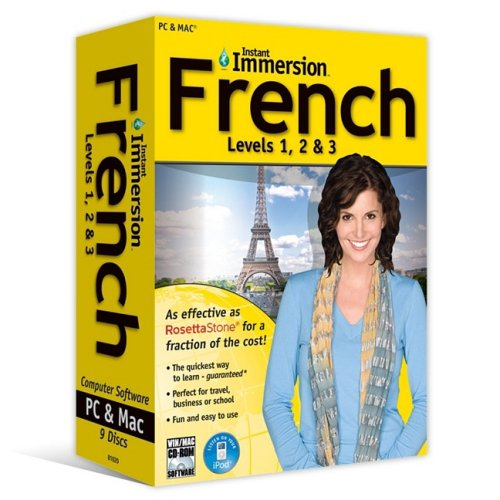 9781600775437: French Levels 1, 2, & 3 (Instant Immersion)