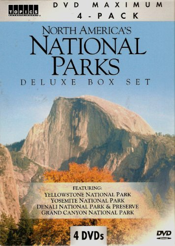 9781600777325: North America's National Parks Deluxe Box Set (4 DVD Set)