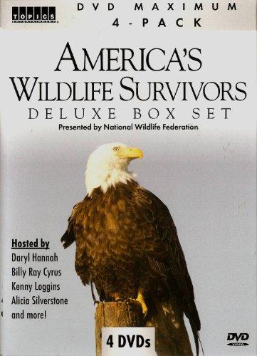 9781600777332: America's Wildlife Survivors Deluxe Box Set (4 DVD Set)