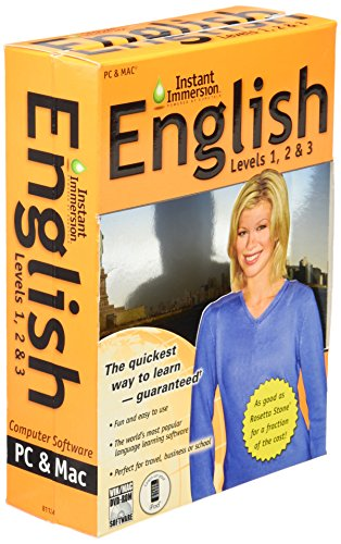 9781600778858: Instant Immersion English: Levels 1, 2 & 3