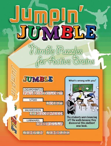 9781600780271: Jumpin' Jumble®: Nimble Puzzles for Active Brains (Jumbles®)