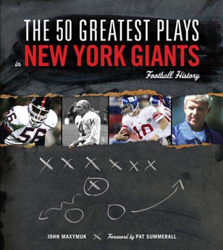 9781600781094: The 50 Greatest Plays in New York Giants Football History
