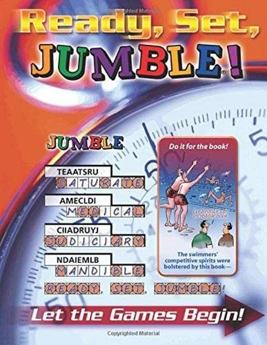 Ready, Set, Jumble®!: Let the Games Begin! (Jumbles®) (1600781330) by Tribune Media Services
