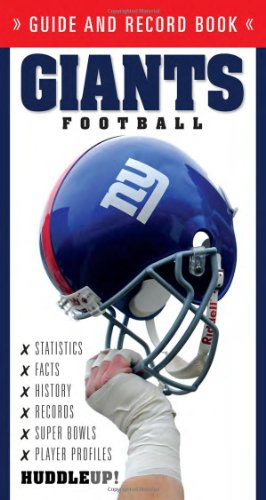 9781600781896: Giants Football (Guide and Record Book)