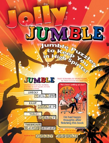Jolly Jumble®: Jumble® Puzzles to Keep You in High Spirits! (Jumbles®)