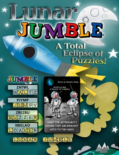Lunar Jumble®: A Total Eclipse of Puzzles! (Jumbles®) (160078853X) by Tribune Media Services