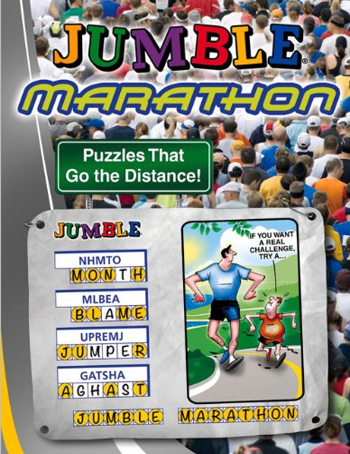 Jumble® Marathon: Puzzles That Go the Distance! (Jumbles®): Tribune Media Services