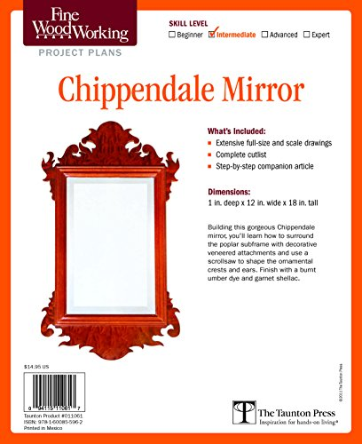 9781600855962: Fine Woodworking's Chippendale Mirror Plan