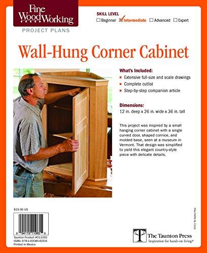 9781600856006: Fine Woodworking's Corner Cabinet Plan