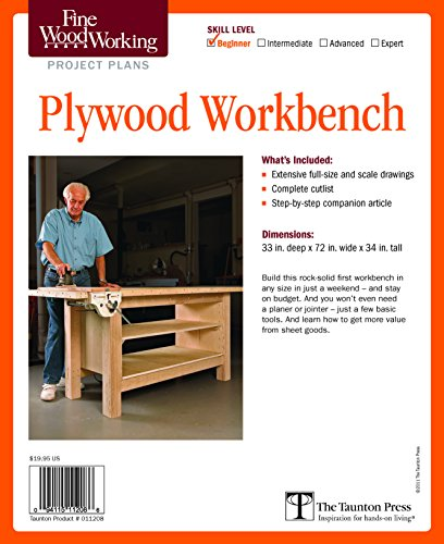 Fine Woodworking's Plywood Workbench Plan: Editors of Fine Woodworking
