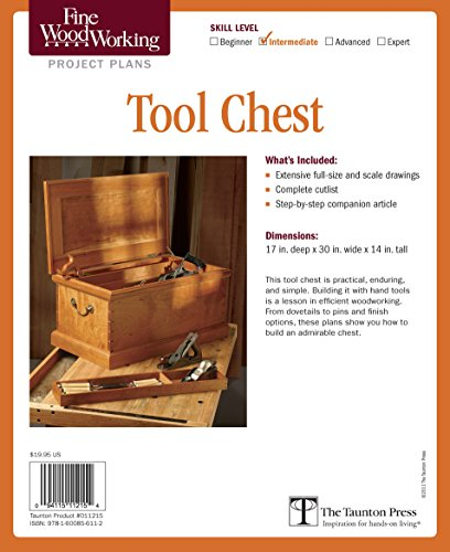 9781600856112: Fine Woodworking's Tool Chest Plan (Fine Woodworking Project Plans)