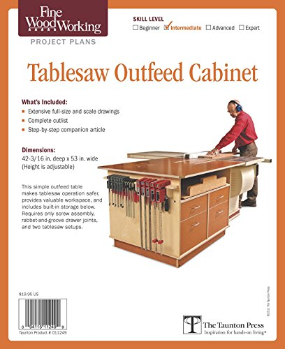 9781600856303: Fine Woodworking's Tablesaw Outfeed Cabinet Plan