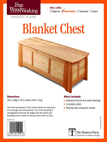 9781600856310: Fine Woodworking's Blanket Chest Plan (Fine Woodworking Project Plans)