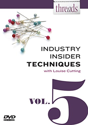 Threads Industry Insider Techniques, Vol. 5: Louise Cutting