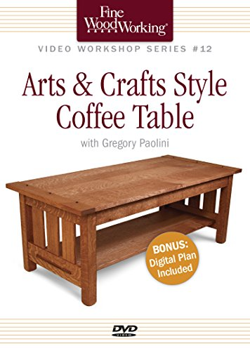 9781600858185: Fine Woodworking Video Workshop Series - Arts & Crafts Coffee Table