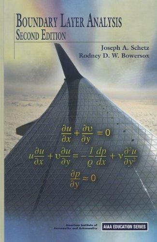 9781600868238: Boundary Layer Analysis (AIAA Education) (AIAA Education Series)