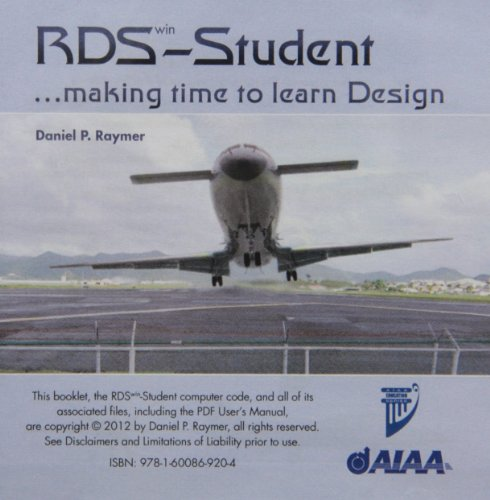 9781600869204: RDSwin 6.0 Software for Aircraft Design (AIAA Education Series)