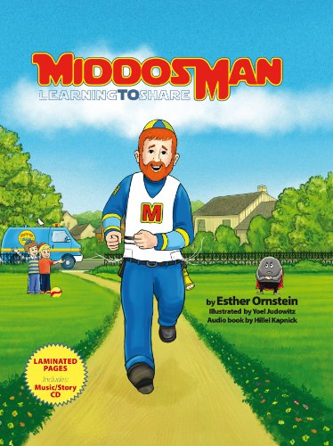 9781600912573: MiddosMan; Learning to Share - Book & Read-Along CD