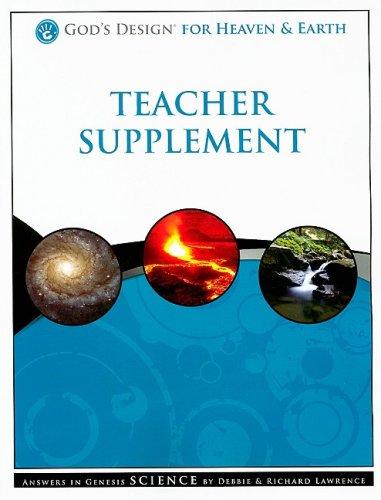 9781600922299: God's Design for Heaven & Earth Teacher Supplement [With 2 CDROMs]