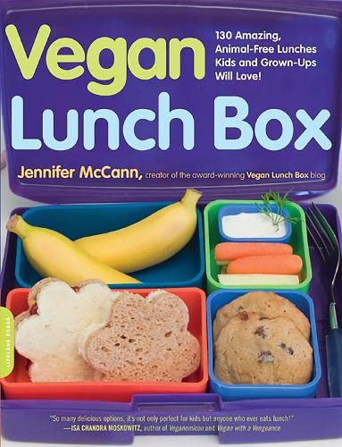 9781600940729: Vegan Lunch Box: 130 Amazing, Animal-Free Lunches Kids and Grown-Ups Will Love!