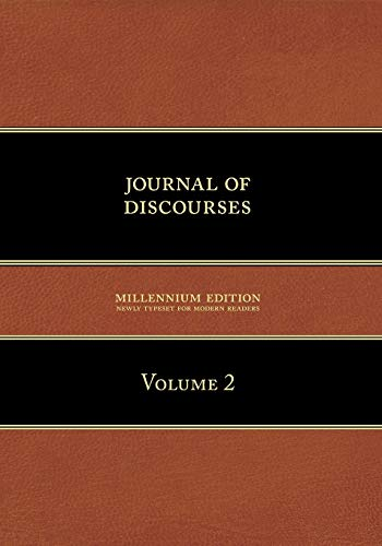 Journal of Discourses: Volume 2: Brigham Young et