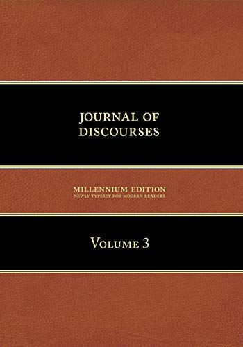 9781600960079: Journal of Discourses: Volume 3