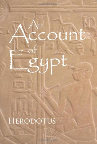 9781600960994: An Account of Egypt