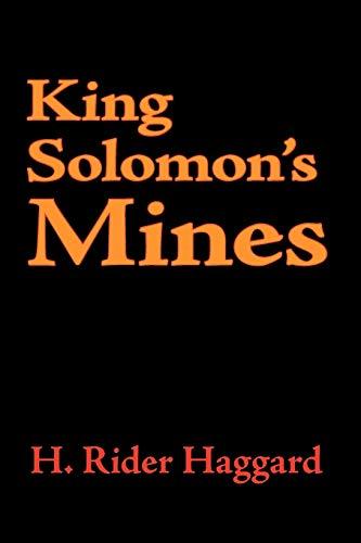 9781600961519: King Solomon's Mines