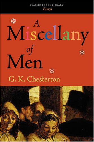 9781600965456: A Miscellany of Men