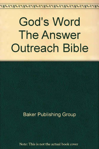 God's Word The Answer Outreach Bible (1600980597) by Baker Publishing Group
