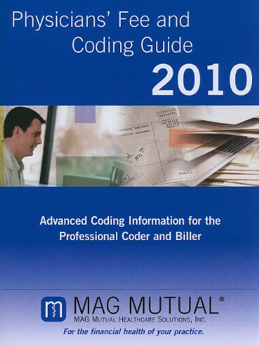 9781600990182: Physicians' Fee & Coding Guide 2010