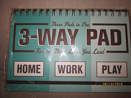 9781601060273: 3-Way Pad, TASKS, ERRANDS, CONTACT, spiral bound by Knock Knock