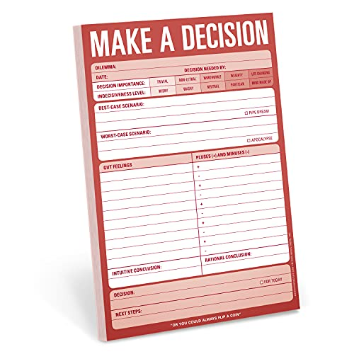 9781601061645: Knock Knock Make a Decision Pad