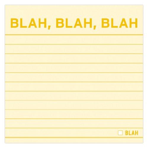 9781601061683: Blah, Blah, Blah Sticky
