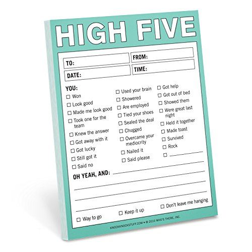 Knock Knock High Five Nifty Note Pad: Knock Knock