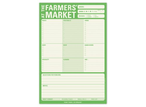 9781601062710: Pad: Farmer's Market (With Magnet)
