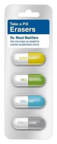 9781601062772: Pill Eraser: Mood Modifier