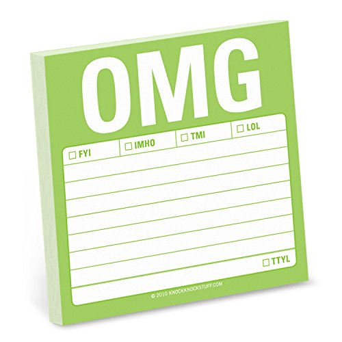 OMG: Sticky Note: Knock Knock